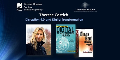 Disruption 4.0 and Digital Transformation. Therese Costich billets