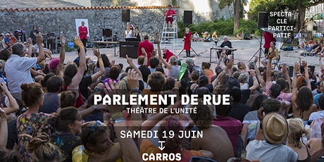 PARLEMENT DE RUE - Théâtre de l'Unité billets