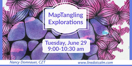 Zentangle® MapTangling Explorations tickets