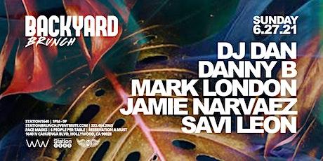BACKYARD BRUNCH W/ DJ DAN tickets