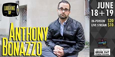 Anthony Bonazzo at The Laughing Tap tickets