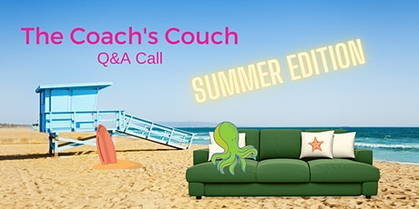 Solopreneur Coach's Couch LIVE Q&A Call  (6/23) tickets