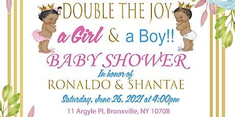 Ronaldo&Shantae's Baby Shower (online) tickets