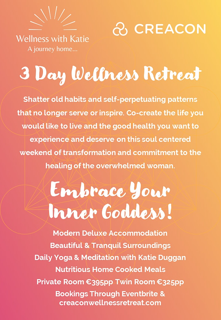 Embrace Your Inner Goddess Retreat at Creacon Well image