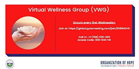 "Virtual ""Wellness"" Group tickets"