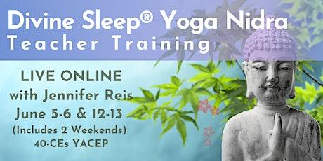 Divine Sleep® Yoga Nidra Teacher Training – Live Online tickets