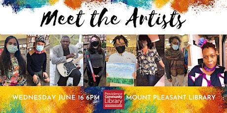 Meet the Artists: An Outdoor Celebration of Local Artists tickets