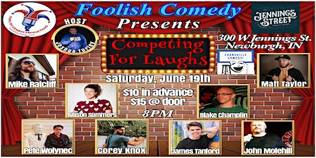 Competing For Laughs (June) tickets