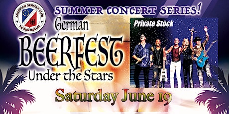 Beerfest Under the Stars presents - Summer Concert with Private Stock Band! tickets