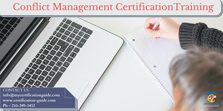 Conflict Management Certification Classroom Training in Palo Alto, CA tickets