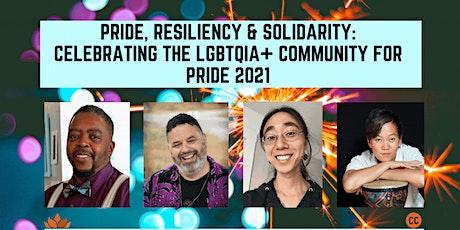 Pride, Resiliency & Solidarity: Celebrating Pride 2021 tickets
