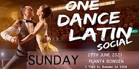 ONE DANCE LATIN SOCIAL tickets