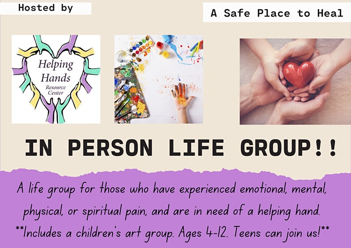 In person Life Groups image