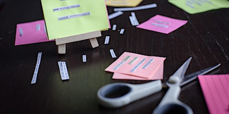 Tiny Ransom Notes - JUNE workshop tickets