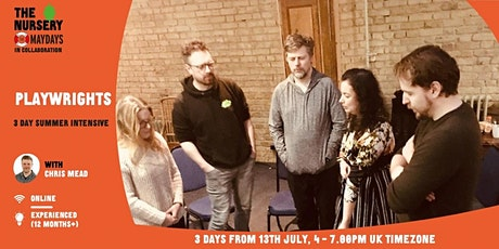 Online Improv Intensive: Playwrights tickets