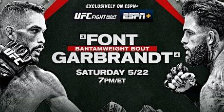 [[StREamS@//Live]]:-UFC Fight Night: Font v Garbrandt Fight LIVE ON fReE tickets