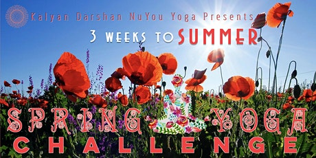 Spring Yoga Challenge - 3 Weeks to Summer - Get Ready to Shine tickets