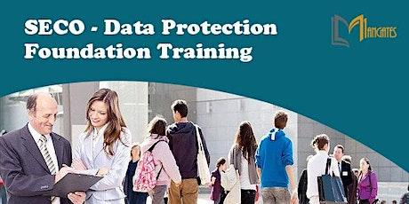 SECO – Data Protection Foundation Virtual Training in Cuernavaca tickets