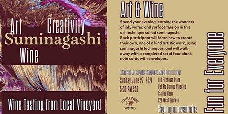 Art and Wine Fun for All tickets