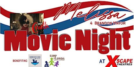 MOVIE NIGHT  to benefit Melissa 4 Honorary Mayor of Brandon tickets