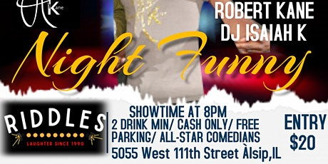 Robert Kane's Funny Sunday @ RIDDLES COMEDY Club tickets