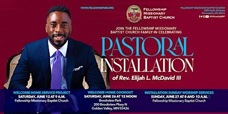 Pastoral Installation Sunday Worship Service (10 am) tickets