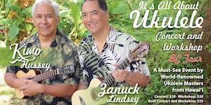 It's All About Ukulele: Kimo Hussey & Zanuck Lindsey's...