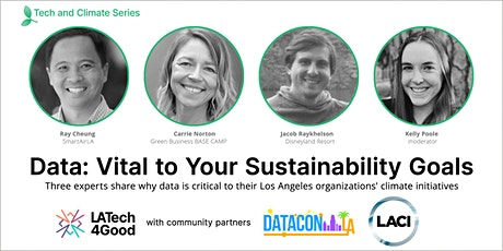 Data: Vital to Your Sustainability Goals tickets