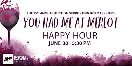 26th Annual ANA Business Marketing Houston Auction tickets