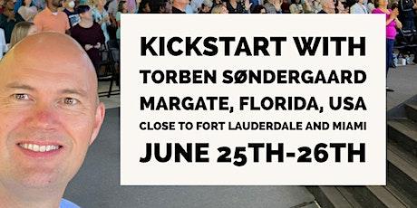 2 day Kickstart, June 25th-26th, Margate Florida with Torben Søndergaard tickets