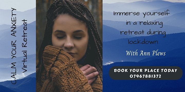 CALM YOUR ANXIETY Virtual Retreat 4 x Saturdays image