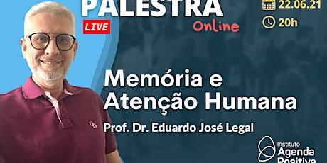 Palestra Online: Memória e Atenção Humana ingressos