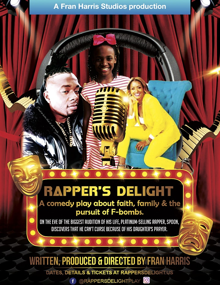 Rapper's Delight   5:30-7 pm and 8:00-9:30 pm   Masks Req. image