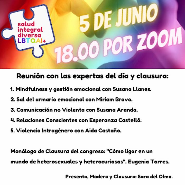 I Congreso Online de Salud Integral Diversa LBTQAI+ image