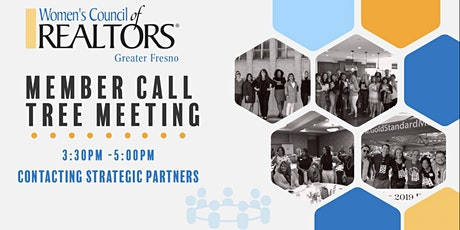 Women's Council Member Call Tree Meeting Monday 5/24 3:30pm -5pm tickets