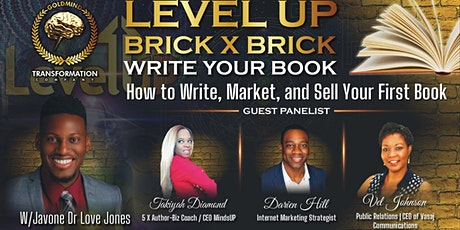 Level Up Brick x Brick: How to Write, Market, Sell tickets