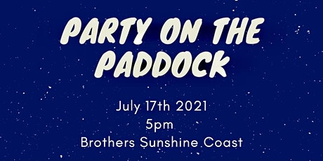 Party On The Paddock tickets