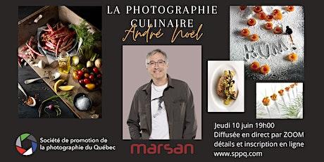 Conférence sur la photographie culinaire - frais d'inscription en ligne tickets