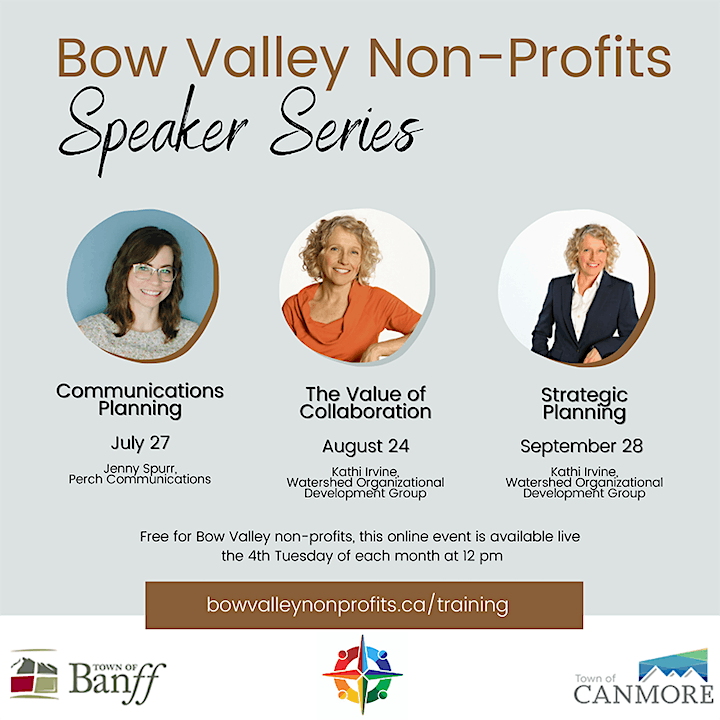 Bow Valley Non-Profits Speaker Series - Communications Planning image