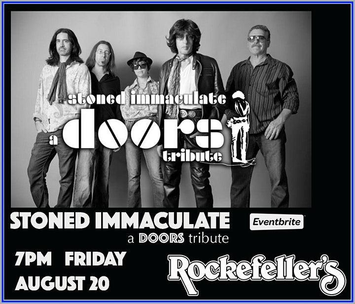 STONED IMMACULATE - a DOORS Tribute image