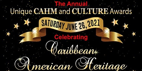Unique CAHM and Culture Awards tickets