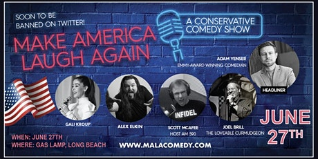 It's Back Long Beach!  Make America Laugh Again tickets