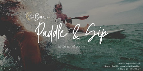 soBar's Sunset Paddle & Sip Event tickets