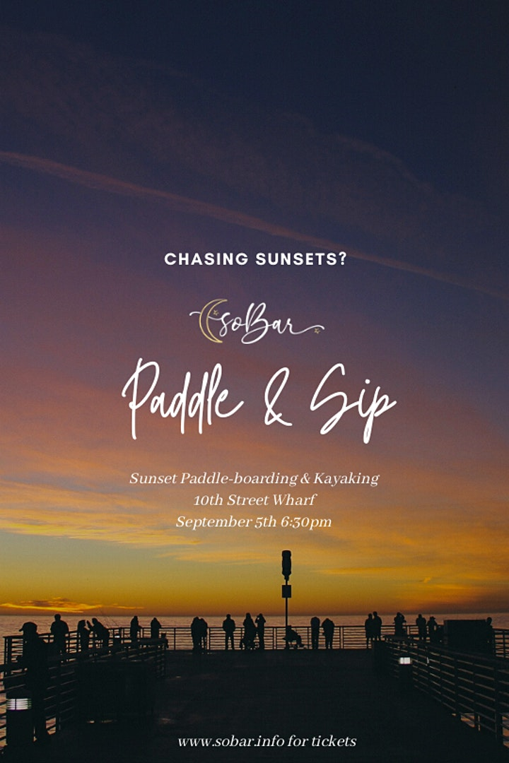 soBar's Sunset Paddle & Sip Event image