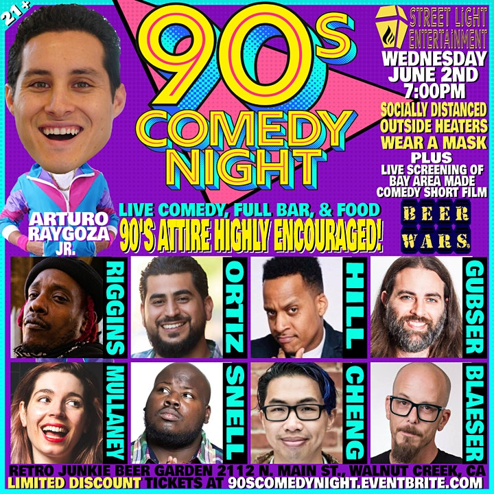 90's Comedy Night: Stand Up Comedy With A 90's Dress Code image