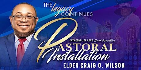 Pastoral Installation Service for Elder Craig Wilson tickets