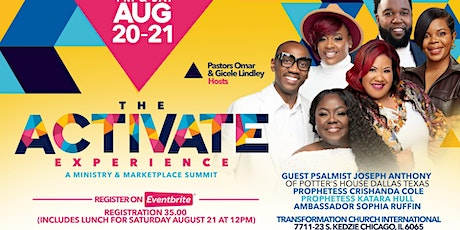 THE ACTIVATE EXPERIENCE tickets