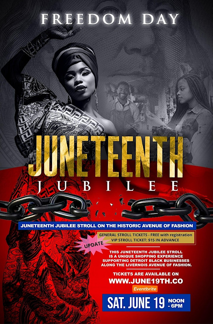 Juneteenth Jubilee  Stroll on the Historic Avenue of Fashion image