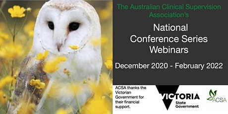 National Conference Series Webinar #4  - Rod Baxter & Karen Shepherd tickets