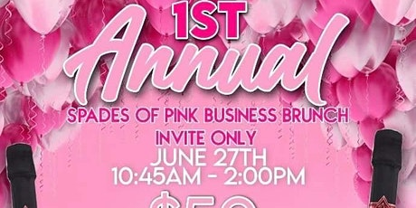 1st Annual Spades of Pink Business Brunch tickets